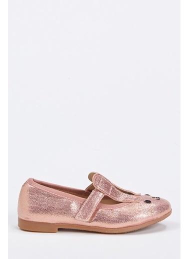 DeFacto Kız Çocuk Tavşan Fiğürlü Babet Ayakkabı Pembe
